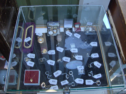 Jewellery for auction
