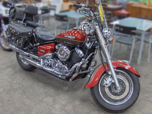 Motorbike for auction
